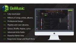 BeMusic - Music Streaming Engine