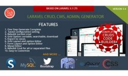 Laravel Multi Purpose Application - CRUD - CMS