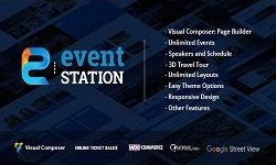 Event Station - Event & Conference WordPress Theme