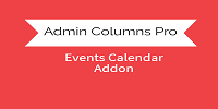 Admin Columns Pro - The Events Calendar  Addon