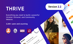 Thrive - Intranet and Community WordPress Theme