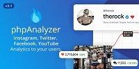 phpAnalyzer - Social Media Analytics Statistics Tool
