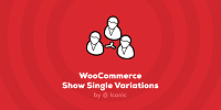IconicWP WooCommerce Show Single Variations